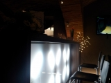 Restaurace, kuřácký salónek