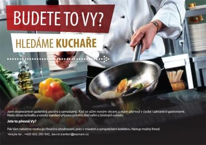 PŘIJMEME KUCHAŘE/KU - HPP